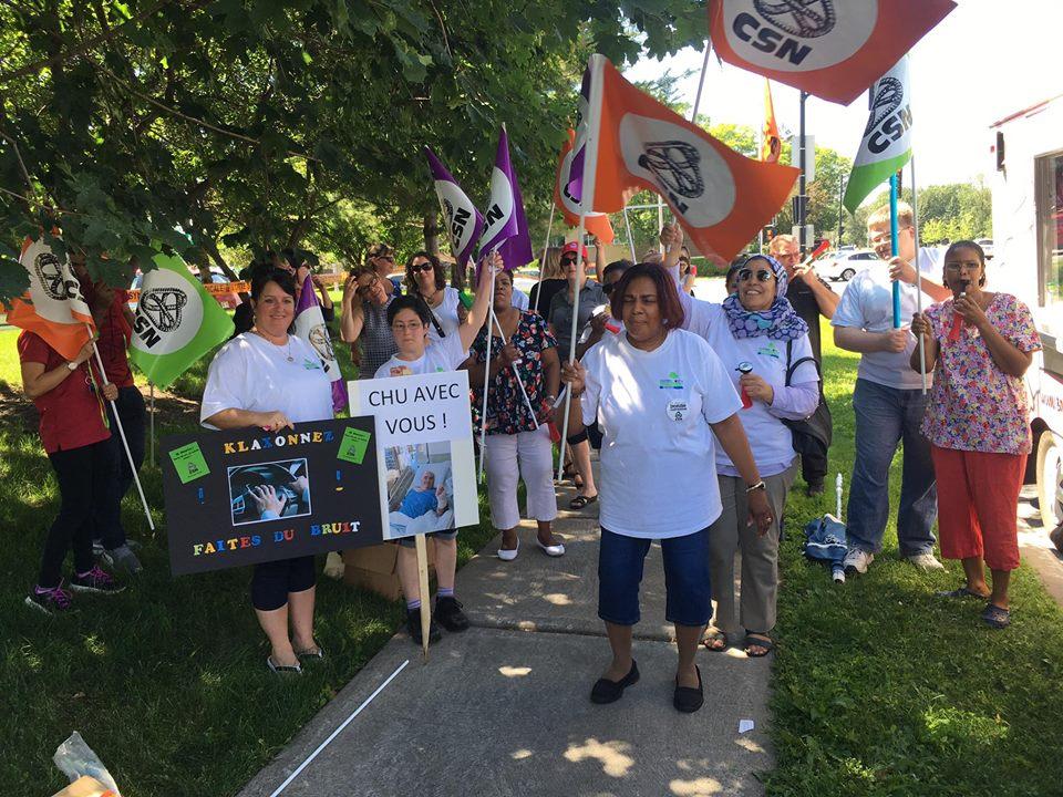 Bientôt en grève au CHP Promenades du Parc